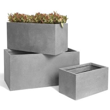 Jardiniere Fibre L  Cm X L  Cm X H