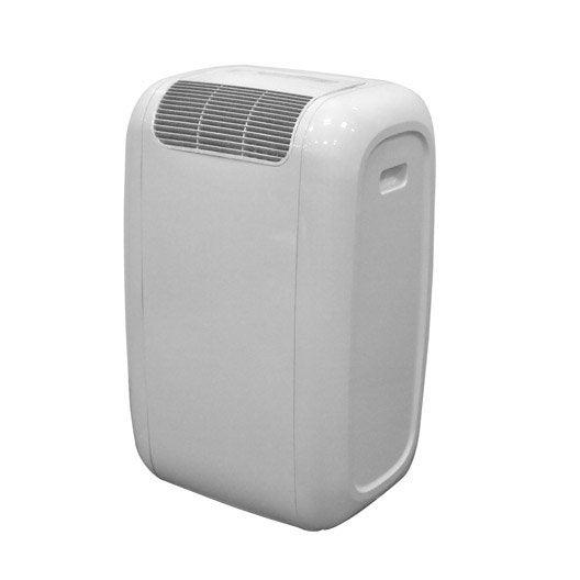 climatiseur mobile blanc celcia, 2600w   leroy merlin