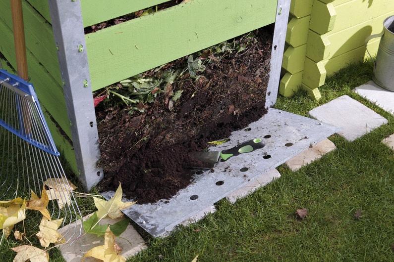 Un compost en bois galva leroy merlin - Leroy merlin composteur ...