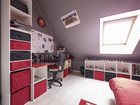 La chambre de Nathalie à Muzillac