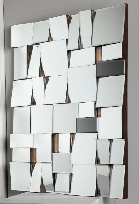 Miroir original à facettes. Tous les styles sont permis !