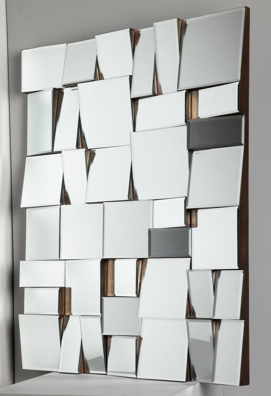 Miroir original facettes tous les styles sont permis - Miroir salon leroy merlin ...