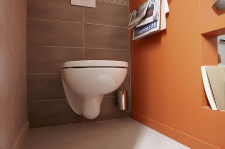 Des WC intimes et lumineux