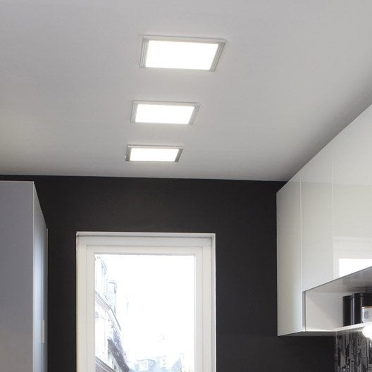 Panneau led int gr e gdansk inspire carr 30 x 30 cm 9 w for Comment choisir un ventilateur de plafond