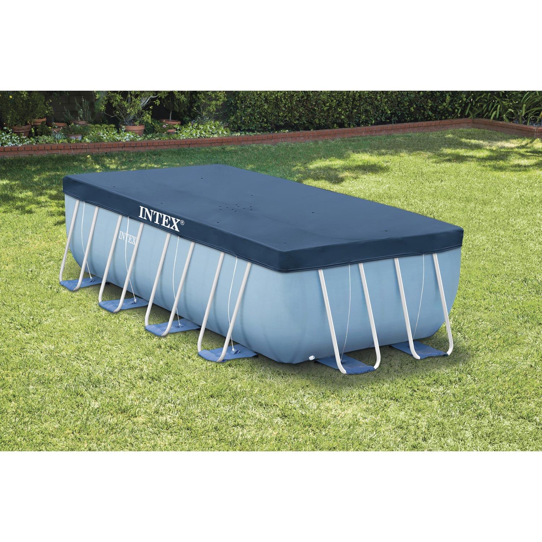 b che hiver intex de protection pour piscine rectangulaire. Black Bedroom Furniture Sets. Home Design Ideas