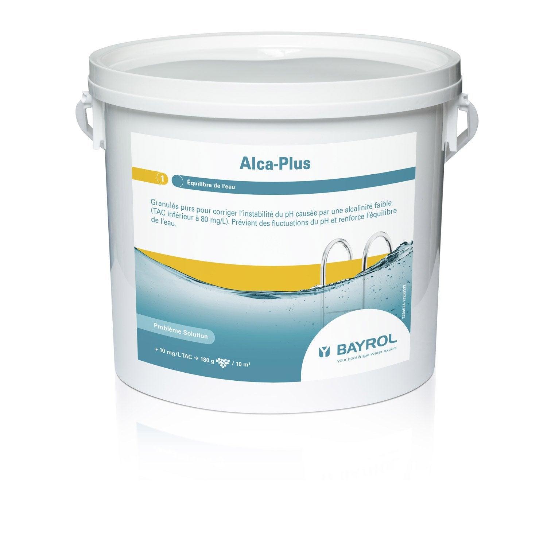 rehausseur d alcalinit piscine bayrol alcaplus granul 5 kg leroy merlin. Black Bedroom Furniture Sets. Home Design Ideas