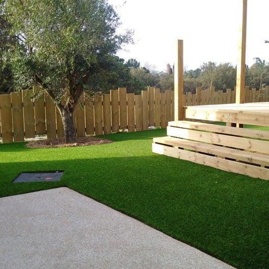 Gazon synth tique pelouse synth tique pelouse for Prix pour refaire une pelouse