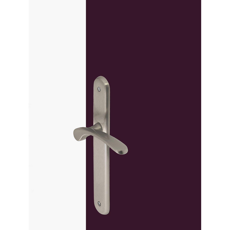 2 poign es de porte eva sans trou inspire laiton 195 mm. Black Bedroom Furniture Sets. Home Design Ideas