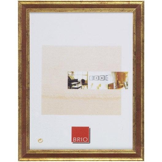 cadre ga a 50 x 70 cm ocre leroy merlin. Black Bedroom Furniture Sets. Home Design Ideas