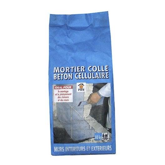Mortier colle pr dos prb 10 kg leroy merlin for Mortier colle exterieur