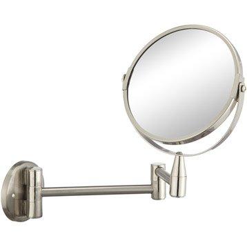 miroir grossissant - miroir de salle de bains | leroy merlin