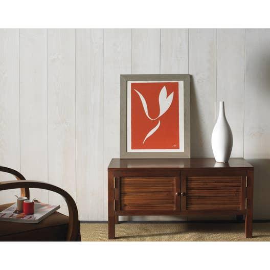 lambris bois pin brut de sciage noueux blanc artens. Black Bedroom Furniture Sets. Home Design Ideas