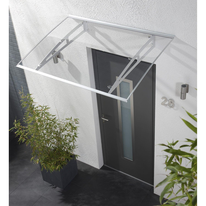 Auvent en kit new york artens x x cm - Auvent de porte de garage ...
