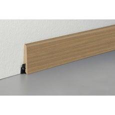 plinthe pour parquet et stratifi plinthe bois assortie et peindre au meilleur prix leroy. Black Bedroom Furniture Sets. Home Design Ideas