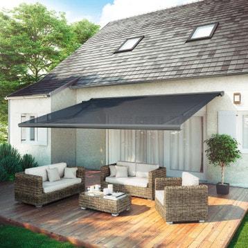 store banne store fen tre store ext rieur terrasse au meilleur prix leroy merlin. Black Bedroom Furniture Sets. Home Design Ideas