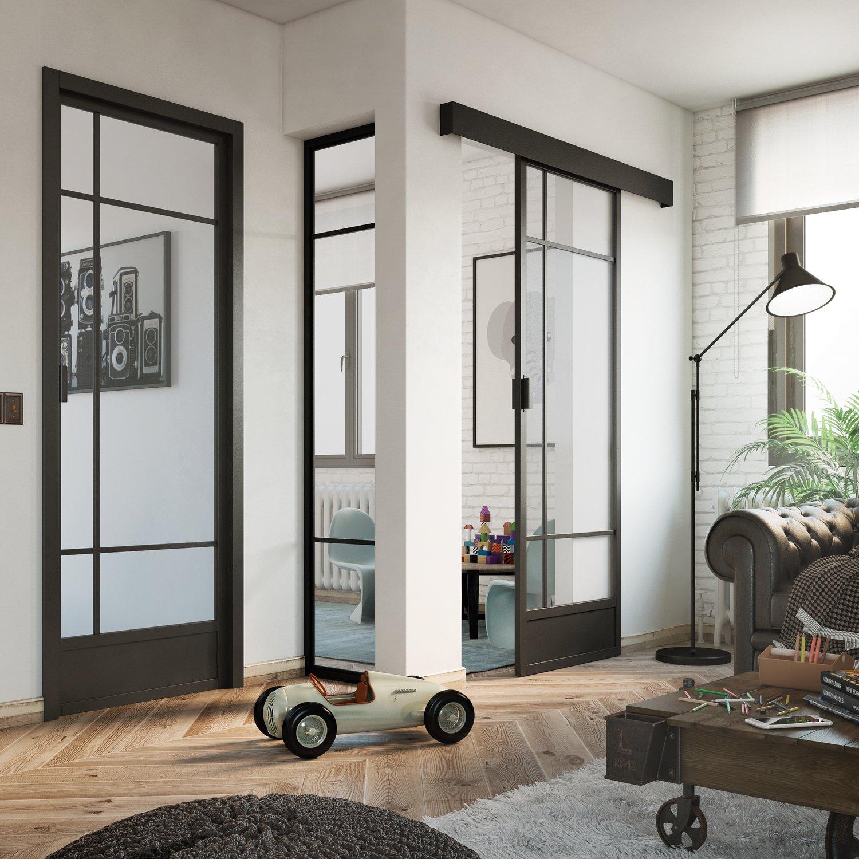 Adoptez Un Style Industriel A Votre Interieur Avec Les Porte D Atelier Leroy Merlin