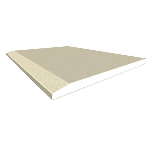Plaque De Plâtre Ba 13 H250 X L120 Cm Standard Marron Ce Home Pratik