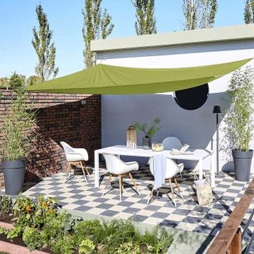 Voile D Ombrage Toile Tendue Terrasse Jardin Au Meilleur
