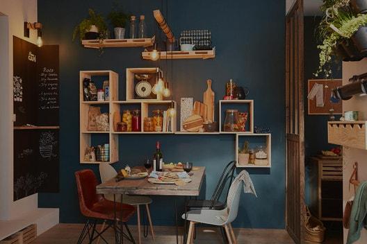 id es et projets d co am nagement cuisine leroy merlin. Black Bedroom Furniture Sets. Home Design Ideas