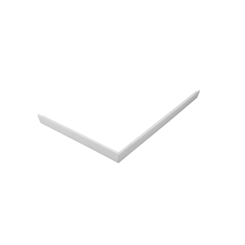 Blanc Mila 100 Tablier L L Receveur 80 X CmAcrylique Pour 9E2IDH
