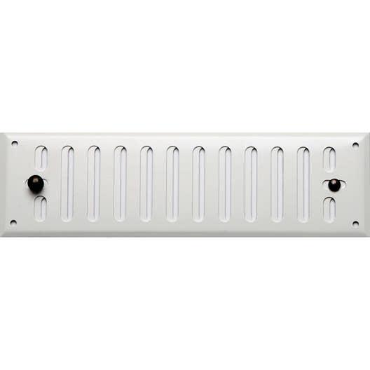 grille d 39 a ration aluminium laqu x l 7 cm leroy merlin. Black Bedroom Furniture Sets. Home Design Ideas