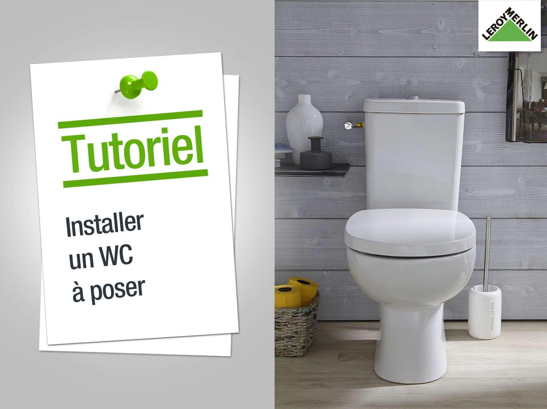 Comment installer un WC à poser ?