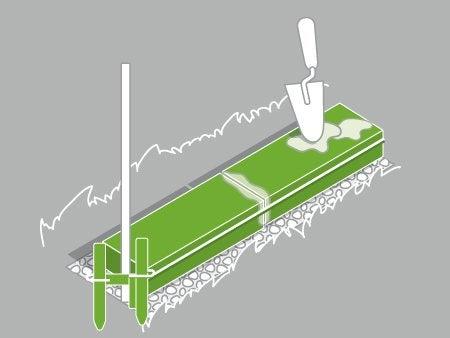 Comment construire un mur en briques leroy merlin - Dosage mortier parpaing ...