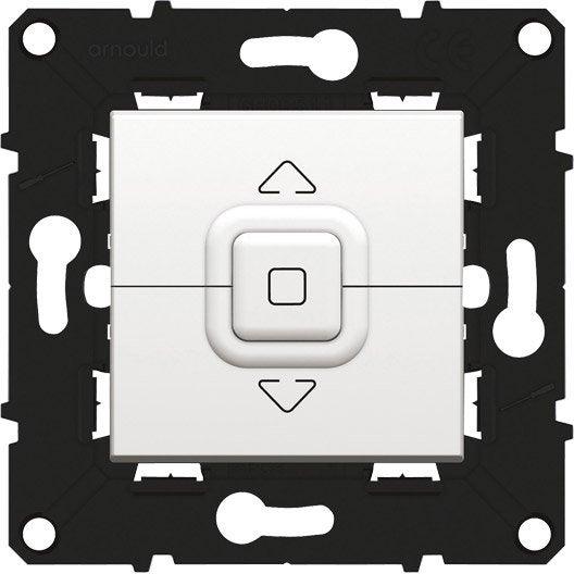 commande volet roulant espace volution arnould blanc leroy merlin. Black Bedroom Furniture Sets. Home Design Ideas