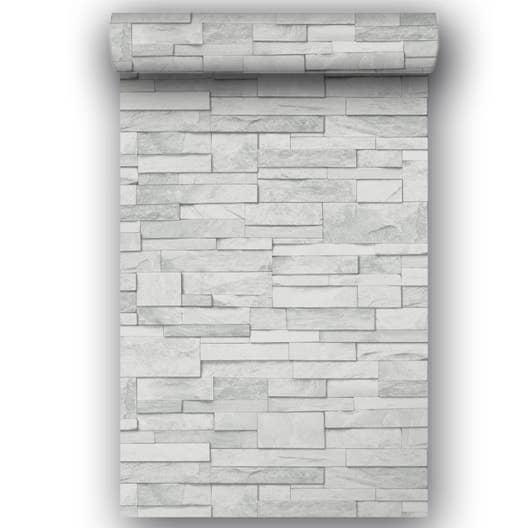 papier peint intiss gris clair leroy merlin. Black Bedroom Furniture Sets. Home Design Ideas