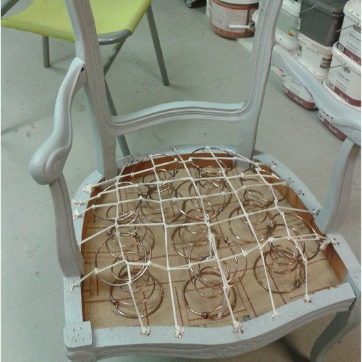 atelier make it relooker un fauteuil journ e leroy. Black Bedroom Furniture Sets. Home Design Ideas