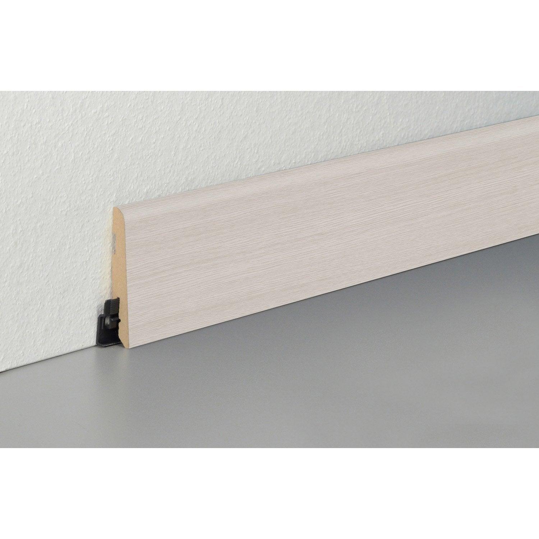 plinthe sol stratifi d cor n 130 cm x x mm leroy merlin. Black Bedroom Furniture Sets. Home Design Ideas