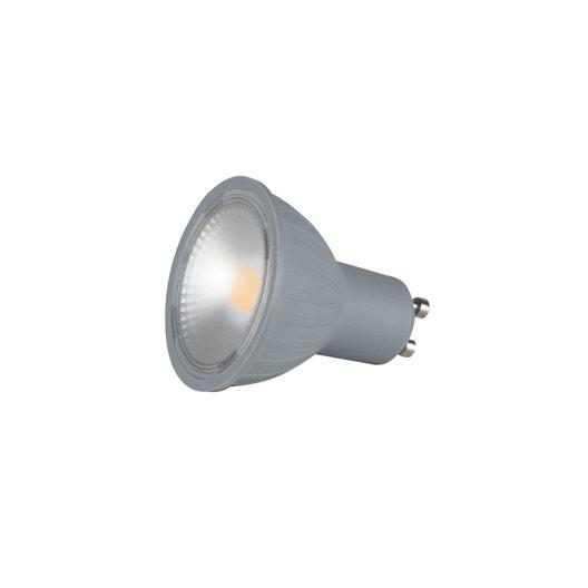 ampoule led gu10 pour spot 6w 460lm quiv 50w 2700k 100 lexman leroy merlin. Black Bedroom Furniture Sets. Home Design Ideas