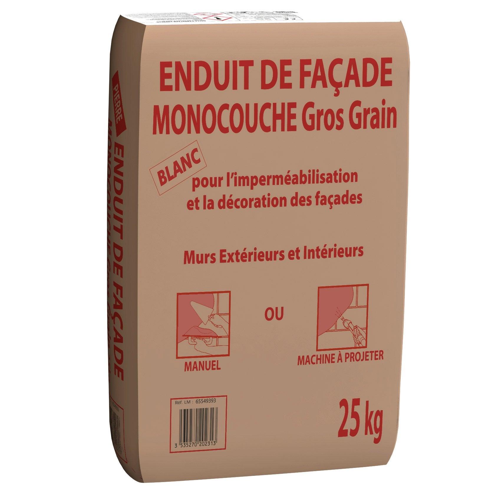 Attrayant Enduit Monocouche Blanc PRB 25 Kg ...