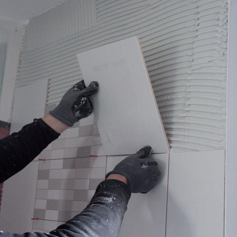 Colle En Pâte Pour Carrelage Mur 25 Kg Blanc