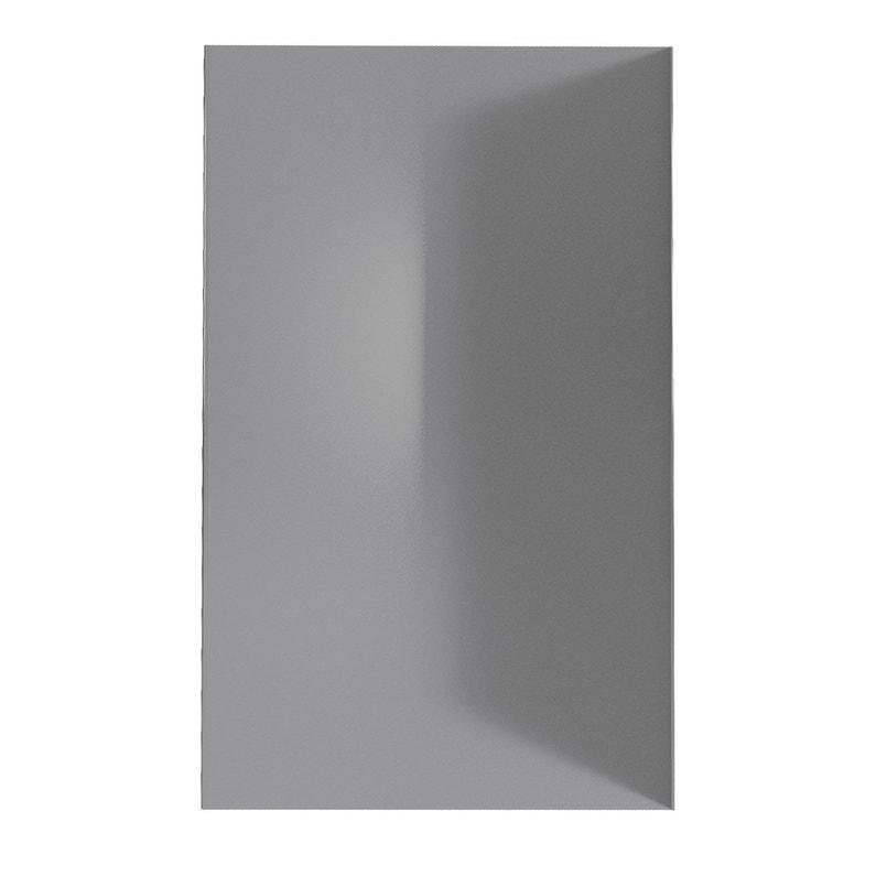 Panneau Mural Salle De Bain Alucolor Gris H 210 Cm X L 120 Cm