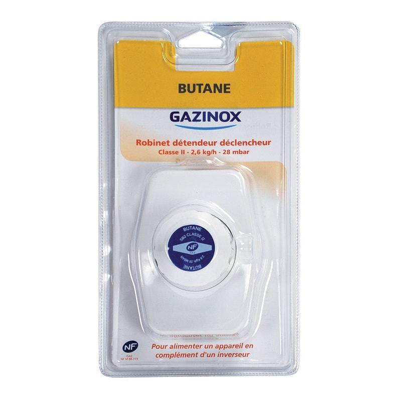 Détendeur Déclencheur Pour Gaz Butane 28millibars 26kg Classe 2 Gazinox