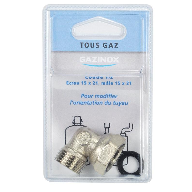 Coude Pour Tout Type De Gaz Pour Gazinière Gazinox