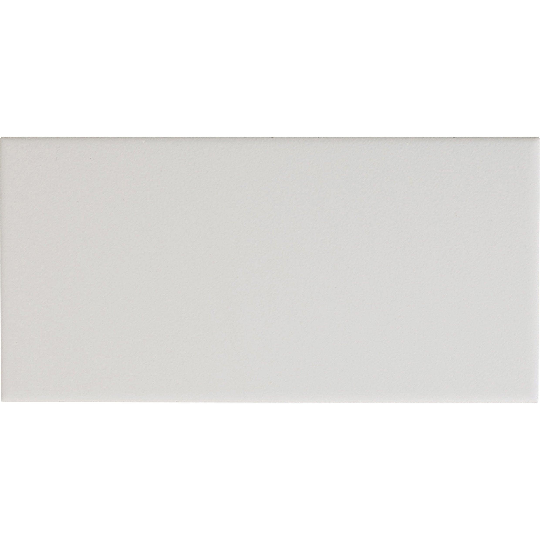 Faïence mur forte blanc-blanc n°0 mat l.10 x L.20 cm, Astuce