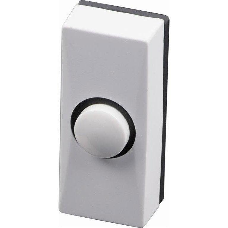 bouton de sonnette filaire scs sentinel golfy 7900 blanc. Black Bedroom Furniture Sets. Home Design Ideas