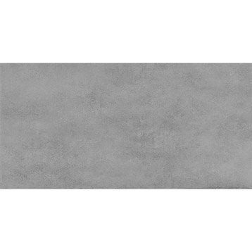 carrelage sol et mur gris clair effet bton welcome l30 x l604 - Carrelage Gris Mur