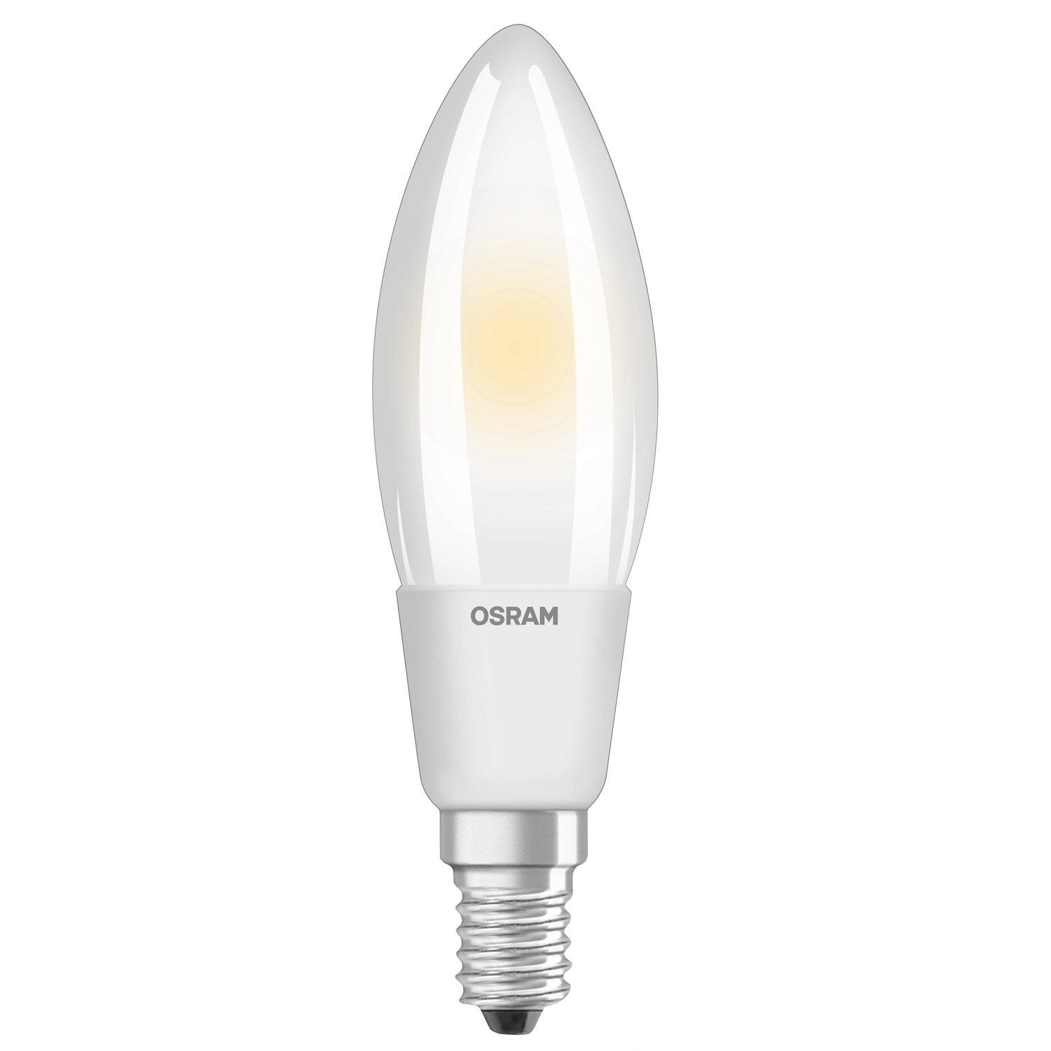 Ampoule led dimmable flamme e14 5w 470lm quiv 40w 2700k 300 osram leroy merlin - Ampoule led e14 leroy merlin ...
