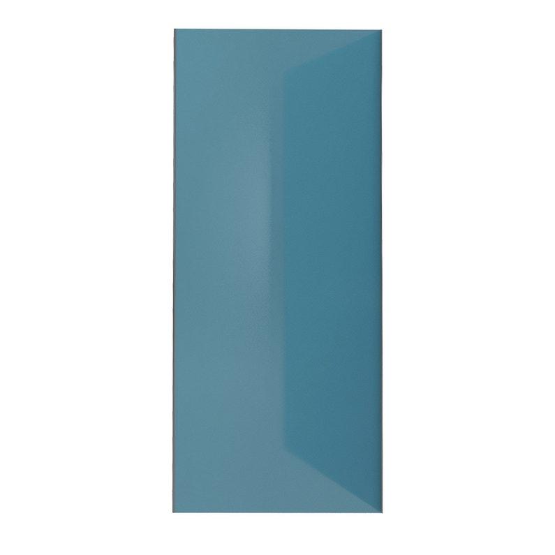 Panneau Mural Salle De Bain Bleu Alucolor H 210 Cm X L 90 Cm Bleu
