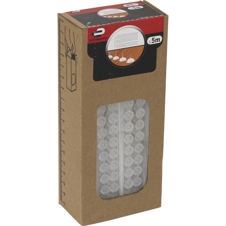 bandelette clouer tapissier acier standers diam 4 x mm leroy merlin. Black Bedroom Furniture Sets. Home Design Ideas