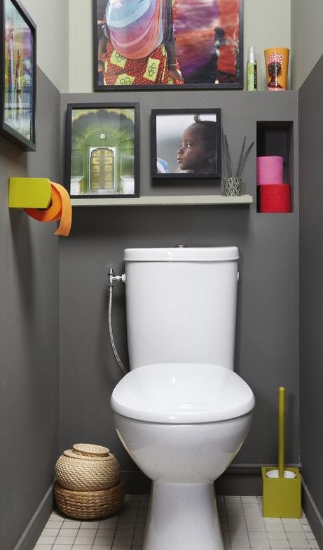Des toilettes à poser