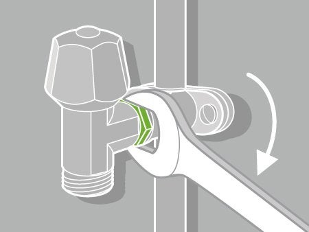 comment poser un robinet autoperceur ? | leroy merlin - Installer Robinet Machine A Laver