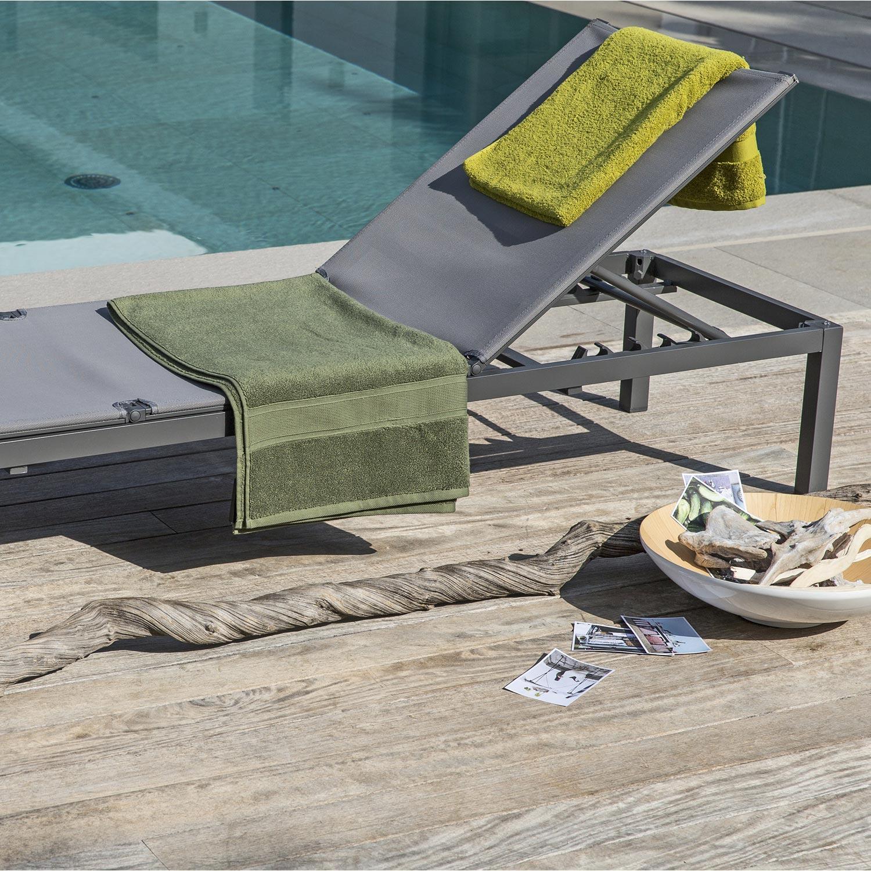 Beautiful Table De Jardin En Aluminium Niagara Grise Naterial Ideas ...