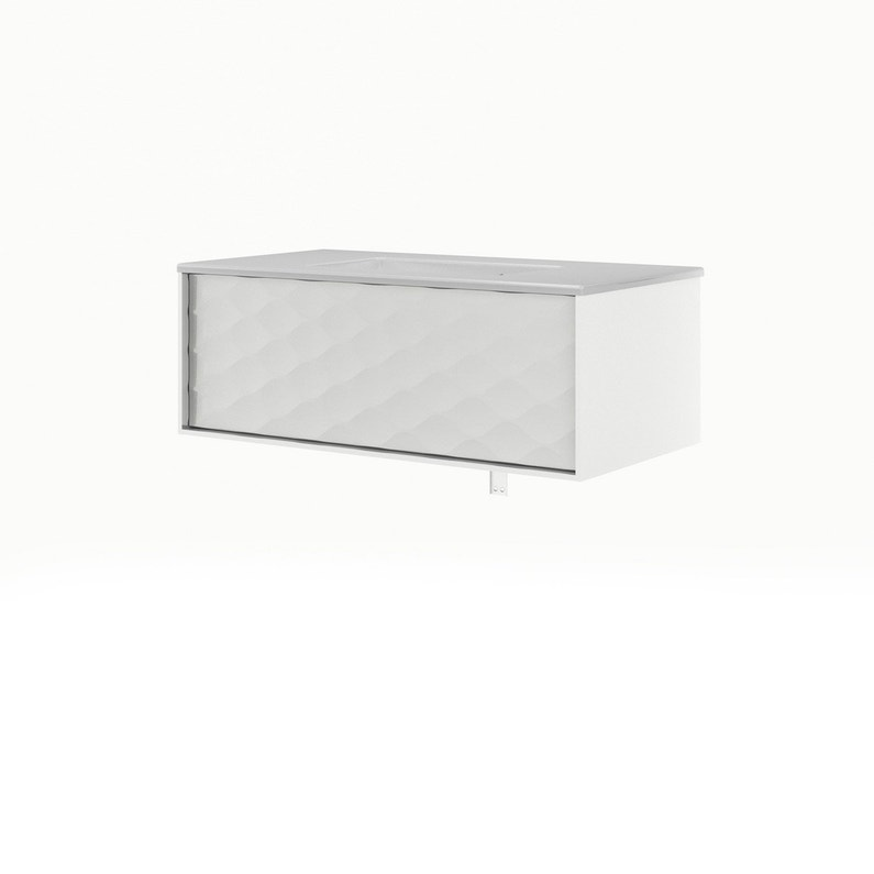 Meuble vasque blanc, Neo frame | Leroy Merlin