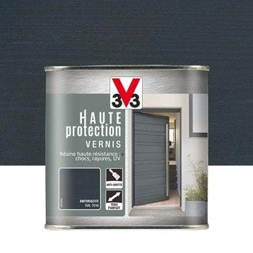Vernis V33 Haute protection opaque 0.75 l, gris anthracite