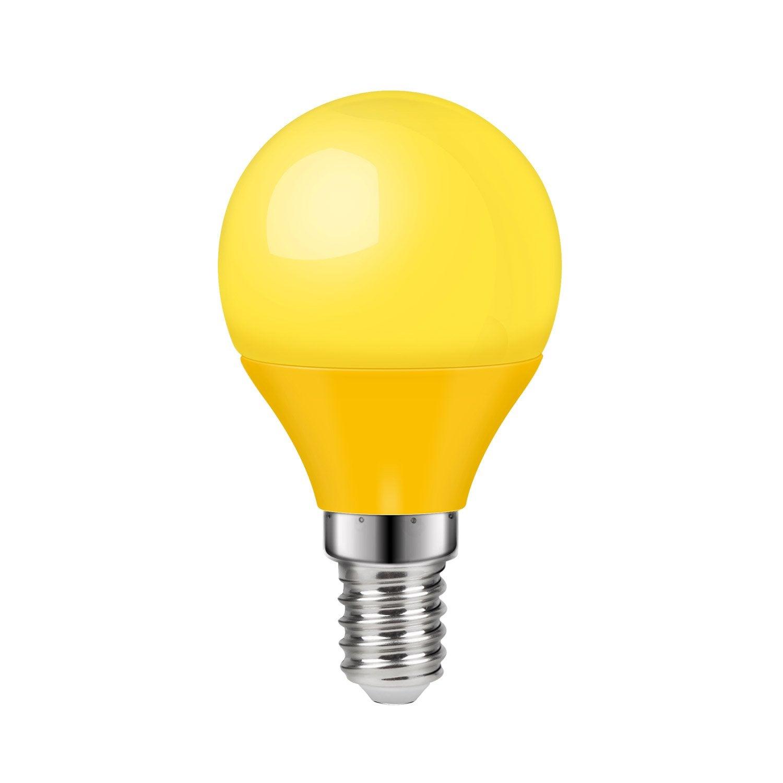 150° 3w Ronde Jaune E14 Ampoule Lexman Led 0w8OvmNn