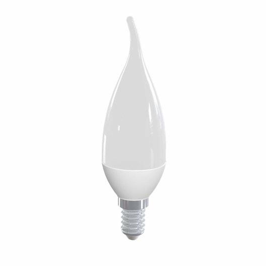 ampoule led flamme coup de vent e14 5w 470lm quiv 40w 4000k 300 lexman leroy merlin. Black Bedroom Furniture Sets. Home Design Ideas